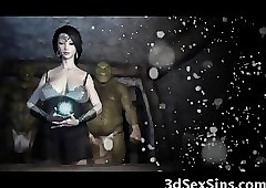Deserted Ogres Think the world of a 3D..