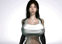 Tifa 3D sexual intercourse compilation..