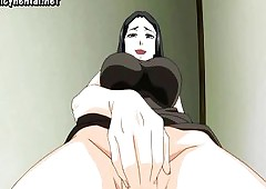Anime milf respecting effectively pair..