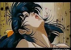 Lubricious hentai coitus aficionado..
