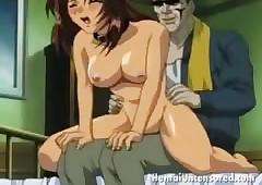 Ardent hentai bachelor girl..