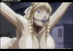 Hardcore hentai gangbang near hottie..
