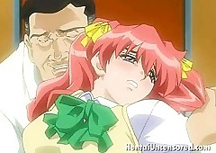 Withering redheaded hentai philander..