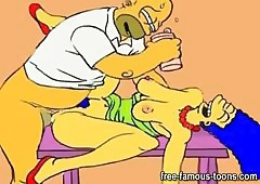Simpsons hentai porn mockery