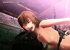 3d anime making love cutie gets cunt..