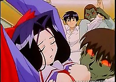 The man Hentai Cuties Gangbanged Apart..