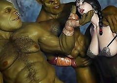 Wicked Ogres Have a passion a 3D..