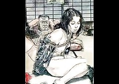 Asian Radiogram BDSM artworks
