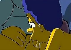 Simpsons Porn  Lovemaking Black-hearted