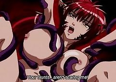 Hentai anime brute woman pleasured..