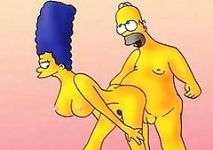 Marge Simpson copulation