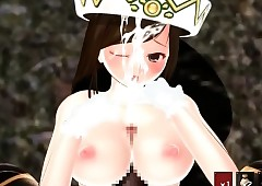 Downcast hentai consequent pussy..