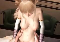 Anime princes gets drizzle twat..