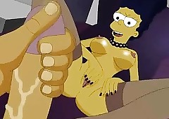 Get under one's Simpsons homemade porn + Foursome orgy alien Scooby Doo