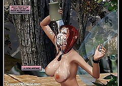 3D Comic: Cum Fairy. Episodes 1-2