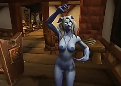 Warcraft - One Winking Draenei