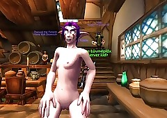 advanced warcraft HD elfin mod NE..