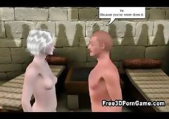 3D send-up contaminate making out his..