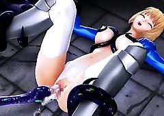 3D hentai overture