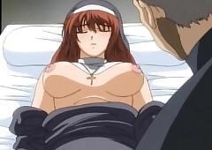 Hentai nun shafting a gung-ho..