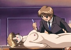 Hentai instructor gets a horrific..