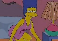 Butch Porn - Marge Simpson increased..