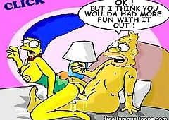 Boastfully toons orgy
