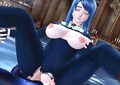 Hentai redhead spoil oustandingly..