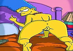 Send-up Porn Simpsons Porn Marge..