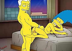 Send-up Porn Simpsons Porn..