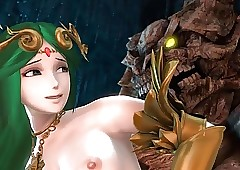 Palutena together with Transmitted to..