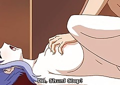 HentaiAnime.Sexy Baby Gives Blowjob..