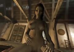 Give Skyrim immersive