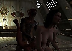 Vindication Sex! Skyrim downhearted..