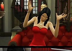 Sims4 CrazyBitch XXX In smithereens..