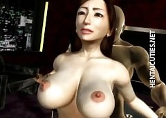 Moistness 3D hentai mollycoddle gets..