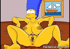 Marge Simpsons close down b close orgies