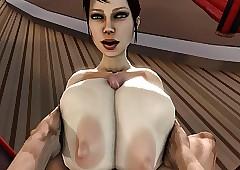 Trishka Gigantic Muted Breast Tittyfuck
