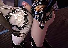 3D Miranda Lawson's arse is..