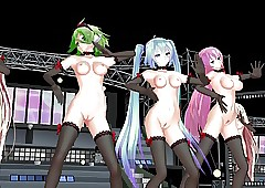 MMD Vocaloid Dance Team