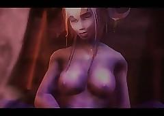 WoW 3D hentai orgy